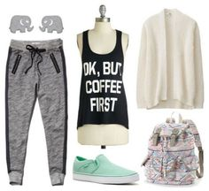 Is finals week just around the corner? If so, save yourself some time and effort by bookmarking these quick and easy outfit formulas. Summer School Outfits, College Outfits, Outfits For Teens, Teenage Outfits, Girls Joggers, Joggers Outfit, College Fashion, Teen Fashion, Fashion Outfits