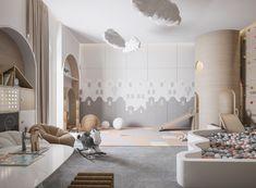 Master Bedroom on Behance Room Design Bedroom, Kids Bedroom Designs, Playroom Design, Home Room Design, Kids Room Design, Modern Kids Bedroom, Master Bedroom, Small Girls Bedrooms, Cool Kids Rooms