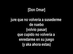 Don Omar Ft. Natti Natasha - Dutty Love (Con Letra) [Video Original]