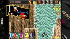 The Revenge of Shinobi (Mega Drive) Gameplay Fase 2-1