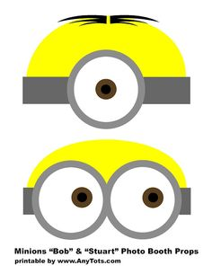 image relating to Minion Template Printable named Pinterest
