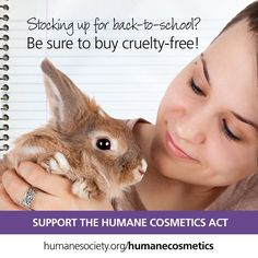 Get your cruelty-free shopping guide at leapingbunny.org + #BeCrueltyFree