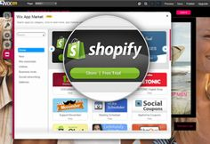 Hot news from the Wix App Market: Turn your website into an online store with the new Shopify App!