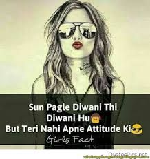 47 New Ideas quotes girl attitude thoughts Attitude Thoughts, Funny Attitude Quotes, Attitude Shayari, Attitude Quotes For Girls, Crazy Girl Quotes, Good Attitude, Attitude Status, Crazy Girls, Girly Quotes