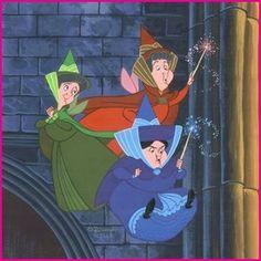 sleeping beautys fairies | Sleeping Beauty Fairies