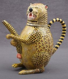 ardmore ceramics - s. africa Mr Brown's The Cheater(dishonest) or The Chetah (African big Cat) same sound.