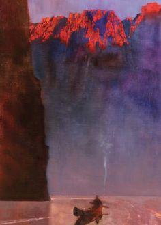 Bernard Fuchs (1932-2009) Canyon Solitude
