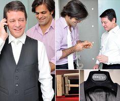 Noivo | Groom | Traje do noivo | Roupa do noivo | Dia do noivo | Making of do noivo | Groom's suit | Suit and tie | Terno | Inesquecível Casamento | Trajes | Camisa | Colete