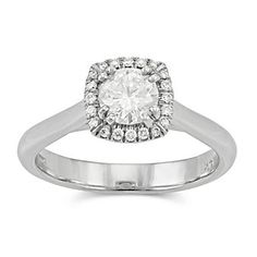 14k White Gold Diamond Ring from Borsheims for $1,425
