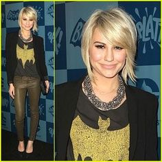 If I were to ever go with a short haircut, this would be it!  Chelsea Kane- love her hair!