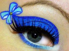 Disney-Inspired Eye Makeup Designs: Get the Look! Alice in wonderland. Disney Eye Makeup, Disney Inspired Makeup, Eye Makeup Art, Beauty Makeup, Ursula Makeup, Eye Art, Maquillage Halloween, Halloween Makeup, Alice In Wonderland Makeup