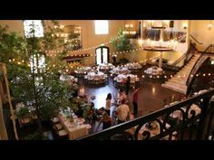 Chapel at Ana Villa Wedding Time-lapse Video - YouTube  This is almost what I want - the lights and trees!!! No head table though - the band will go there
