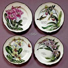 """Коллекция тарелок """"Орхидеи"""""""