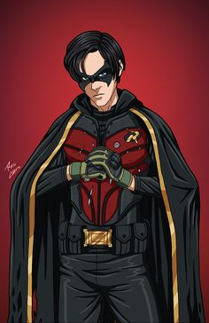Jason Todd (Batman: Death of Robin) commission by phil-cho on DeviantArt - Top-Trends Jason Todd Robin, Jason Todd Batman, Robin Dc, Superhero Characters, Dc Comics Characters, Dc Comics Art, Batman Vs Superman, Batman Art, Batman Comics