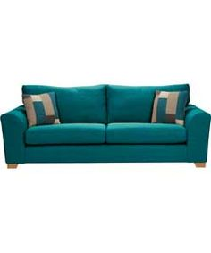 Ashdown Extra Large Sofa - Teal.