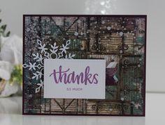 SSS January Card Kit, SSS Eliza Snowflake Die, # SSS FAVE