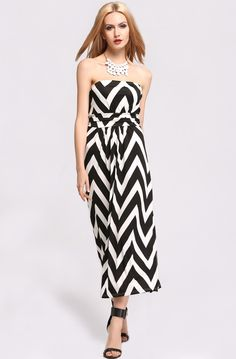 Fashion Elegant Women's Off-shoulder Geometric High Waist Ball Party Long Dress