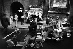 Rome, Italy: Photograph by William Klein Vintage Photographs, Vintage Photos, Vintage Stuff, Amsterdam, Rome Streets, Lille France, William Klein, French Photographers, Documentary Photographers