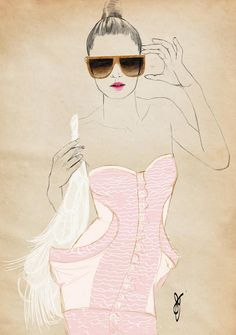 fashion illustration sandra suy - Google Search