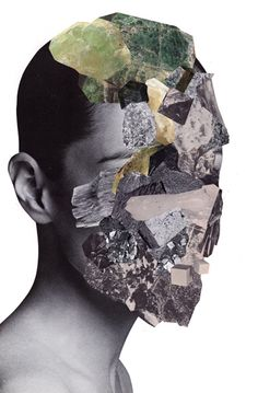 Artist Jesse Draxler's collages are definitely original, with each series differing from the next.