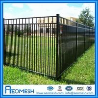 source privacy garden aluminum no dig fence panels no dig fence on malibaba