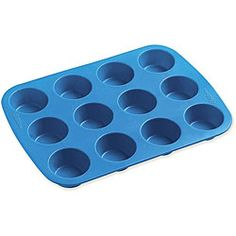 @Overstock - Discover silicone, the wonder tool of the kitchen, with a 12-cup mini muffin panSilicone baking accessory is flexible, for easy food removalReusable silicone novelty baking pan made by Wilton, the recognized bakeware leaderhttp://www.overstock.com/Crafts-Sewing/Wilton-Easy-flex-Silicone-Mold-12-cup-Mini-Muffin-Pan/4282103/product.html?CID=214117 $8.76