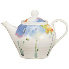 Buy Janice Tchalenko for Poole Pottery Iris Teapot online at JohnLewis.com - John Lewis