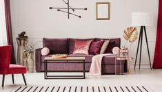 5 Popular Interior Design Trends for 2019 Living Room Accents, Living Room Color Schemes, Cozy Living Rooms, Living Room Chairs, Living Room Interior, Living Room Decor, Canapé Design, Interior Design, Design Trends