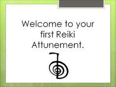 Reiki Level 1 first attunement
