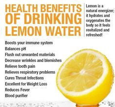 The Amazing Health Benefits of Drinking Lemon Water