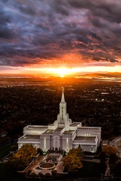 Bountiful Temple - Utah