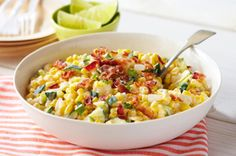 Creamy Corn & Zucchini recipe