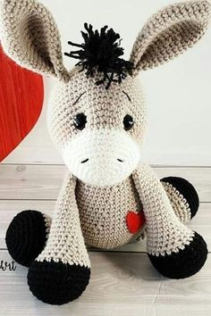 44 Awesome Crochet Amigurumi Patterns For You Kids for 2019 Part amigurumi for beginners; amigurumi for kids; amigurumi animals 44 Awesome Crochet Amigurumi Patterns For You Kids for 2019 Part amigurumi for beginners; amigurumi for kids; Crochet Animal Patterns, Crochet Patterns Amigurumi, Stuffed Animal Patterns, Amigurumi Doll, Crochet Dolls, Knitting Patterns, Kids Patterns, Crochet Stuffed Animals, Easy Crochet Animals