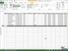 Microsoft Project 2013 Tutorial - Budget Costs and Budgeting