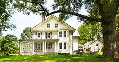 Charming and warm. That seems to be the best way to describe the Haverford Renovation from Rasmussen / Su Architects.