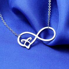 Unendlich Halskette Edelstahl Runen von Gadget4Entertainment