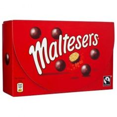 One of our favourites and best sellers! A light honeycomb centre encased in delicious chocolate. Maltesers are a little bit of naughtiness, but with a light hearted personality and a lot of fun.