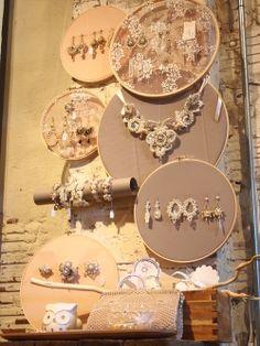 Creative and beautiful Jewelry Display