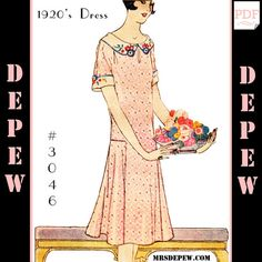 MultiSize Vintage Sewing Pattern Reproduction Ladies' by Mrsdepew