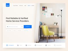 Home Services Landing Page