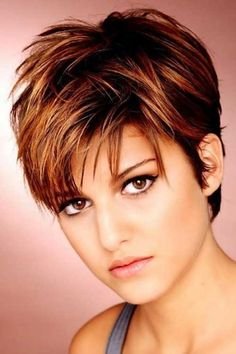 Short Haircuts with Bangs for Thick Hair ~ Long hairstyles