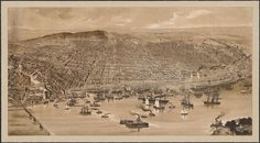 Birds eye view city of Montreal 1889. Drawn and published by the George Bishop Eng. & Ptg. Co. (Limited) Lithographed by the George Bishop Eng. & Ptg. Co. (Limited) (BAC, Mikan 4137889, Mention : Bibliothèque et Archives Canada, Droit d'auteur : expiré)