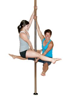 Show of strength! Pole dancing as fitness regime.