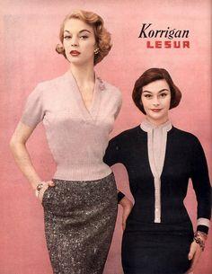 Flickr Jean Patchett and Anne Gunning. Harper's Bazaar, 1954