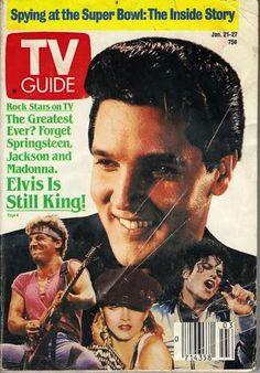 Elvis Presley TV Guide