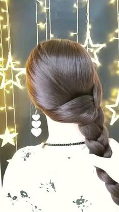 Daily Hairstyles, Bun Hairstyles For Long Hair, Hair Updo, Braided Hairstyles Updo, Wedding Hairstyles, Hair Up Styles, Hair Videos, Hair Hacks, Hair Makeup