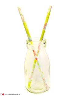 Floral tropicana garden #paperstraws