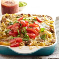 Mexican Mac and Cheese: A comfort-food casserole that pairs Mexican flavors with pasta.