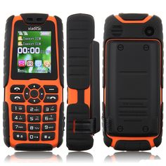 """2014 New Unlocked Outdoor Cell Phone Keyboard  Xiaocai X6 1.8inch Screen Bluetooth 5000mah GSM Dual SIM Russian Free Shipping $<span itemprop=""""lowPrice"""">34.99</span> - <span itemprop=""""highPrice"""">46.99</span> Cheap Phones, Waterproof Phone, Dual Sim, Walkie Talkie, Keyboard, Sims, Bluetooth, Outdoor, Watches"""