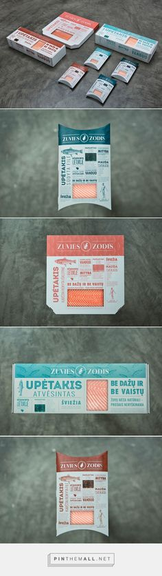 Žuvies Žodis fish products by Gabija Platukyte. Source: Daily Package Design Inspiration. Pin curated by #SFields99 #packaging #design